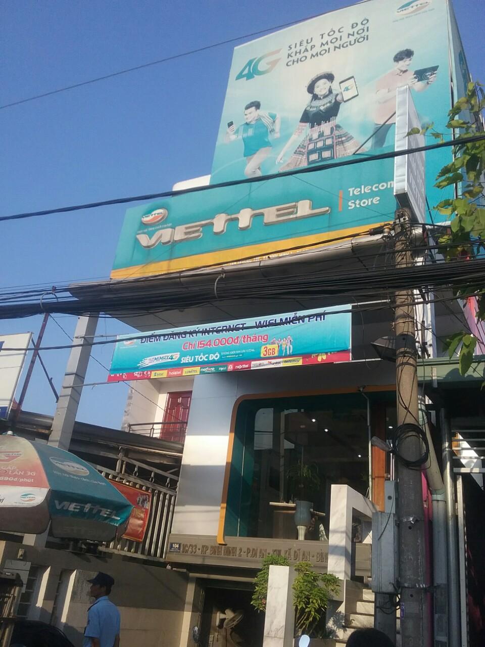 Cửa hàng Viettel Bình Dương